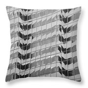 A New Wrinkle On Downtown Throw Pillow