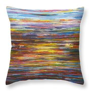 A New York Minute Throw Pillow