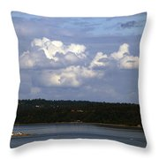 A Nice Day To Be In Washington Throw Pillow