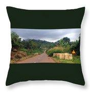 A Nice Nigerian Road Throw Pillow