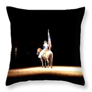 A Night At The Rodeo Throw Pillow