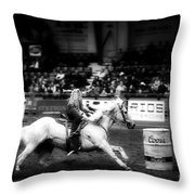 A Night At The Rodeo V33 Throw Pillow
