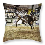 A Night At The Rodeo V36 Throw Pillow