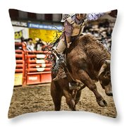 A Night At The Rodeo V6 Throw Pillow