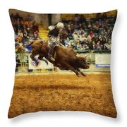 A Night At The Rodeo V7 Throw Pillow