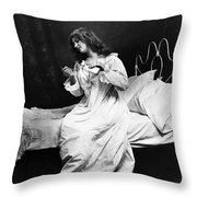 A Night Cap, 1901 Throw Pillow