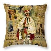 A Night On The Town Christmas Treat Throw Pillow