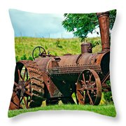 A Once Mighty Beast Throw Pillow