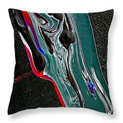 A Painters Blood Throw Pillow