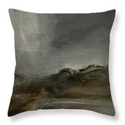 A Painting A Day 7 Abstract Landscape Painting Original Signed Painting  Throw Pillow