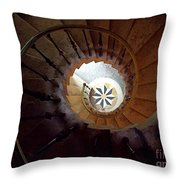 A Painting Villa Vizcaya Spiral Staircase Throw Pillow