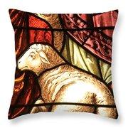 A Pair Of Lambs Throw Pillow