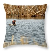 A Pair Of Redheads 2 Throw Pillow
