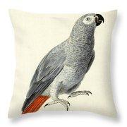 A Parrot Throw Pillow