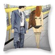 A Passing Fancy Throw Pillow