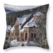 A Peaceful Place Throw Pillow