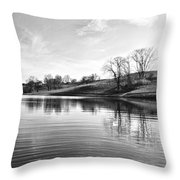 A Peacefull Place Throw Pillow