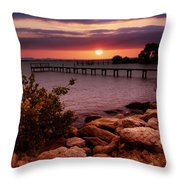 A Perfect Night Throw Pillow