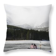 A Perfect Picnic Throw Pillow