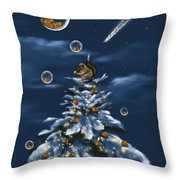 A Perfect Present Throw Pillow