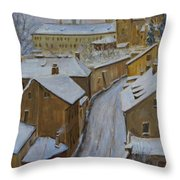 A Perfect Winter Night Throw Pillow