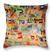 A Person Is Always Accountable Throw Pillow