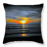 A Phoenix Firebird Sunset Throw Pillow