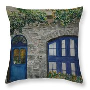 A Picturesque Corner Of France Throw Pillow