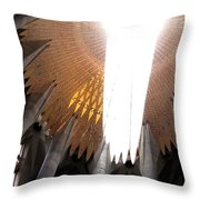 The Light Of Heaven On Earth Throw Pillow