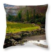 A Piece Of Ireland Throw Pillow