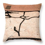A Piece Of Serenity Throw Pillow