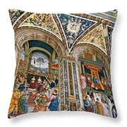 A Piece Of The Piccolomino Throw Pillow