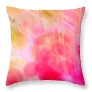 A Pink Dream Throw Pillow