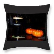 A Pint For Fall, Slainte Throw Pillow