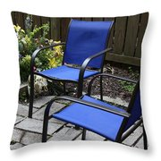 A Place For Conversation Throw Pillow