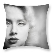 a place in time Mosh Throw Pillow