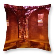 A Place Of Solace After Loss Throw Pillow