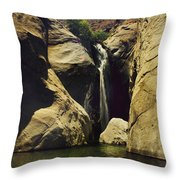 A Place To Rest My Weary Heart Throw Pillow