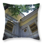 A Place To Watch The World Go By Throw Pillow
