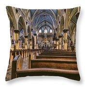 Place To Worship Throw Pillow
