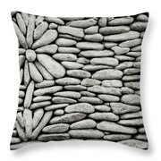 A Plant In The Wall Throw Pillow