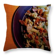 A Plate Of Pasta Throw Pillow