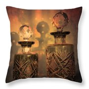 A Play Of Light At Dusk Throw Pillow by Loriental Photography