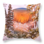 A Poem Of Love For My Wife Throw Pillow