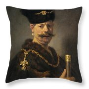 A Polish Nobleman Throw Pillow