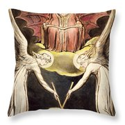 A Priest On Christ's Throne Throw Pillow