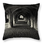 A Priory Vault. Throw Pillow