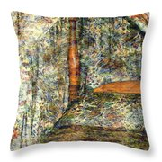 A Profusion Of Chintz Throw Pillow