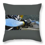 A Proper Prop Throw Pillow