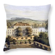 A Prussian Royal Residence, C.1852-63 Throw Pillow